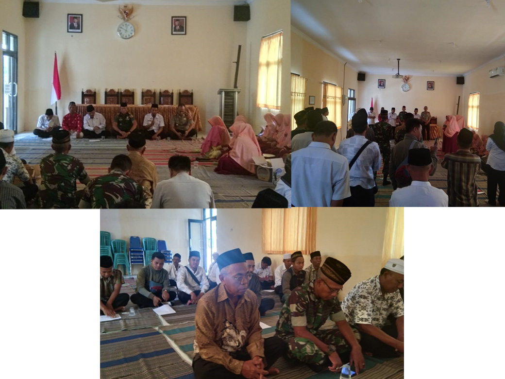 Camat Pasrujambe Gelar Tasyakuran Dalam Rangka Peringatan Maulid Nabi Muhammad SAW Tahun 2019