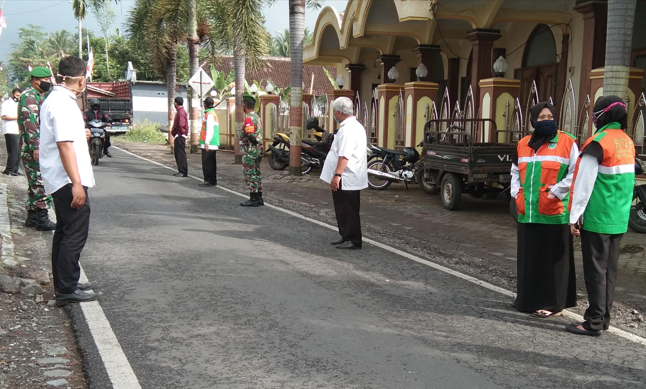 Camat ajak desa dalam pelaksanaan operasi Masker di wilayah